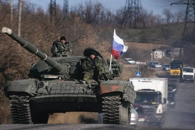 Российские вооруженные формирования на Донбассе