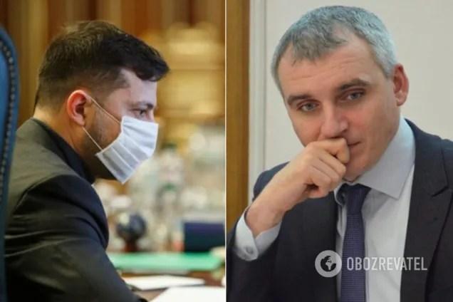 Зеленський і Сенкевич