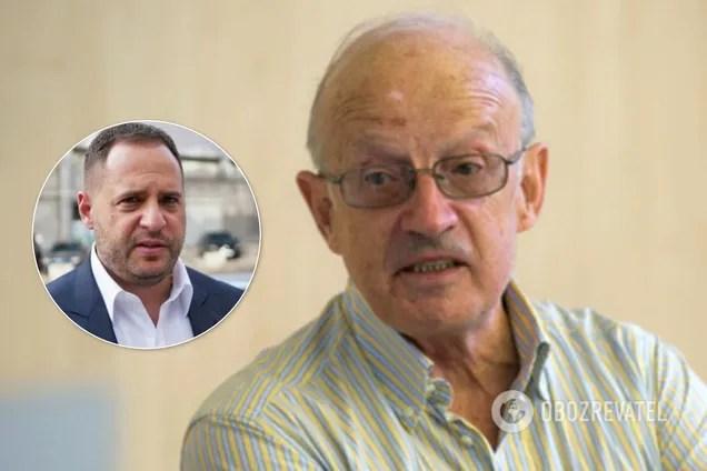 """Піонтковський вважає, що Єрмак – """"агент Кремля"""""""