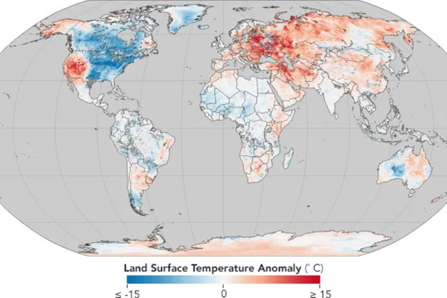 NASA буде досліджувати аномальну погоду в Україні