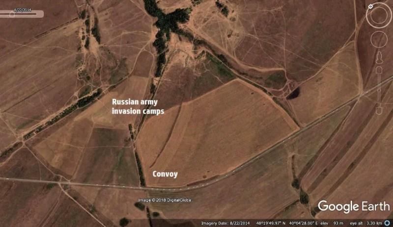 Супутник зняв вторгнення армії Росії в Україну: унікальні кадри