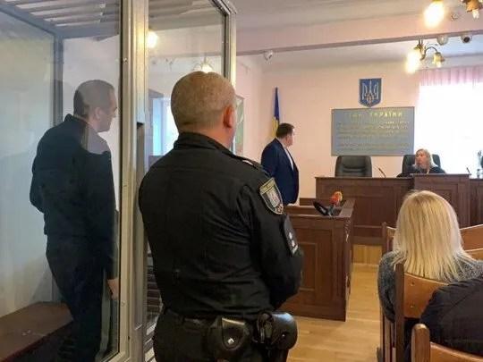 Колишній чоловік Олег на суді