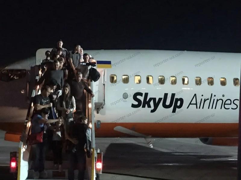 В Шарм-Ель-Шейху загорівся український літак
