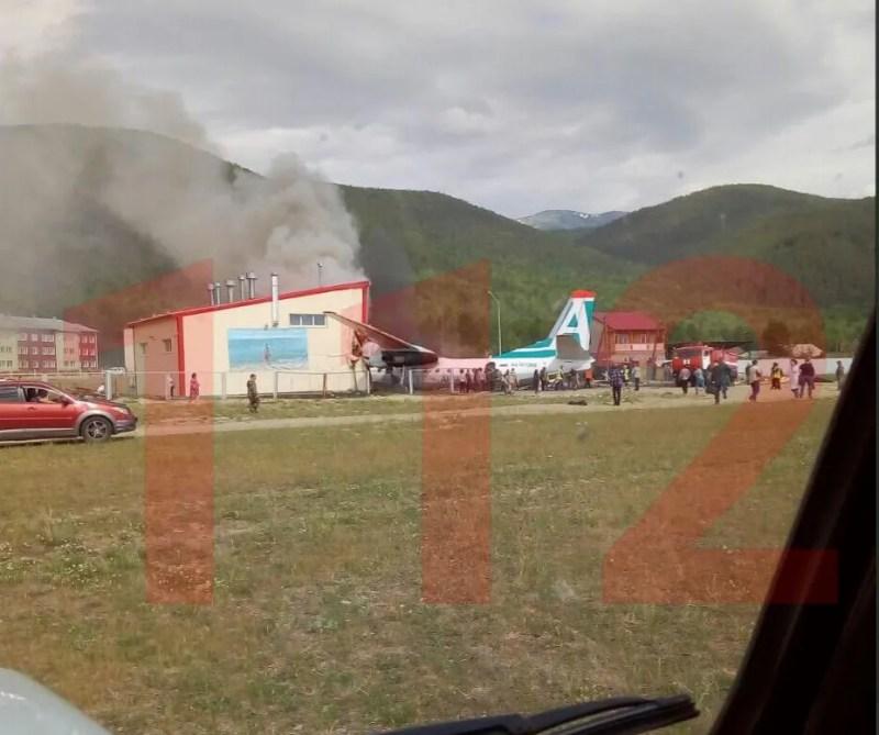 У Росії в аеропорту загорівся літак із пасажирами: є жертви і постраждалі