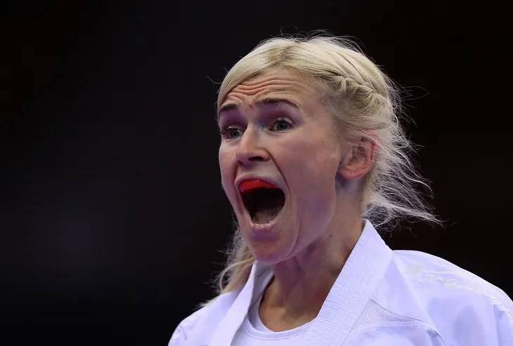 Аніта Серьогіна – карате, перемога в куміте до 61 кг