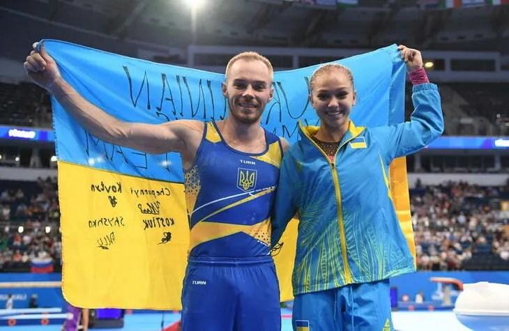 Олег Верняєв – спортивна гімнастика, перемога у вправах на брусах