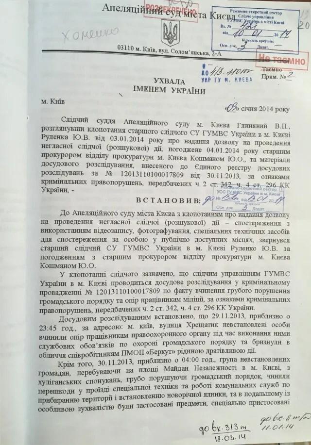 Співробітників НАБУ викрили у викраденні активістів Євромайдану