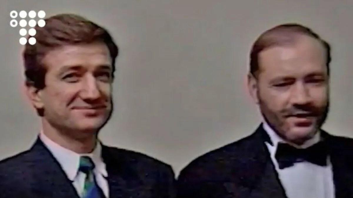 Сергій Тарута (ліворуч) та Євген Щербань (праворуч)