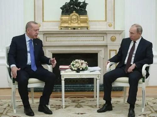 Реджеп Таїп Ердоган і Володимир Путін