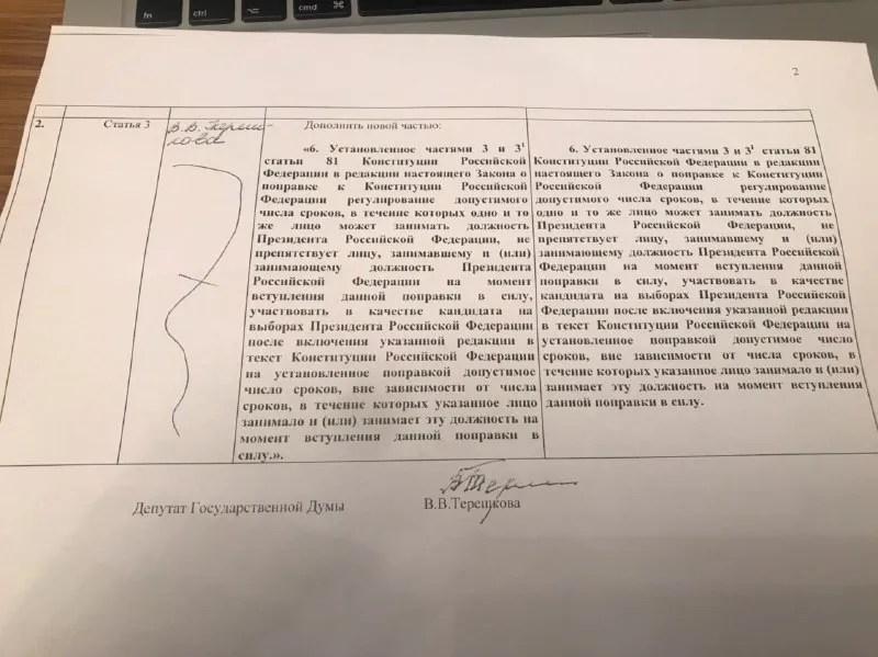 Правка Терешкової