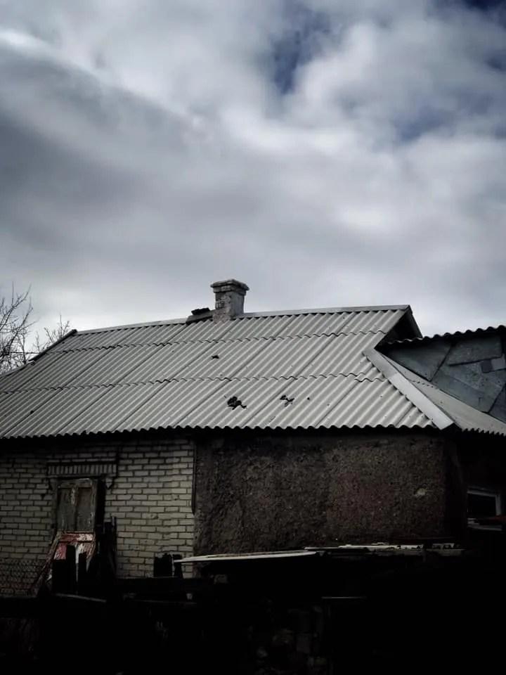 """Обстріл Красногорівки терористами """"ДНР"""""""