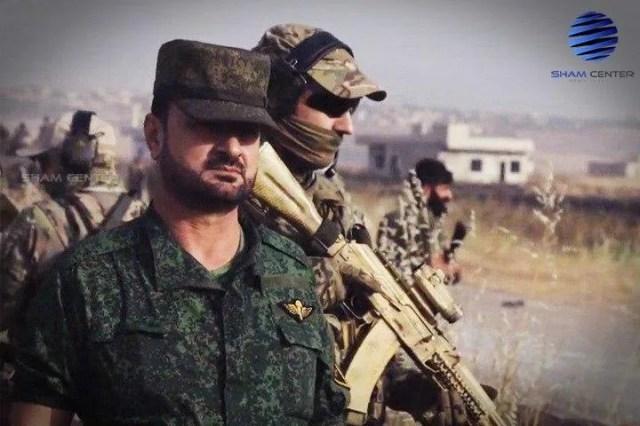 Российские военные из спецназа ССО РФ охраняли Хасана