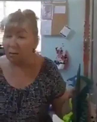 """Продавчиня, яка назвала Україну """"російською"""" землею."""