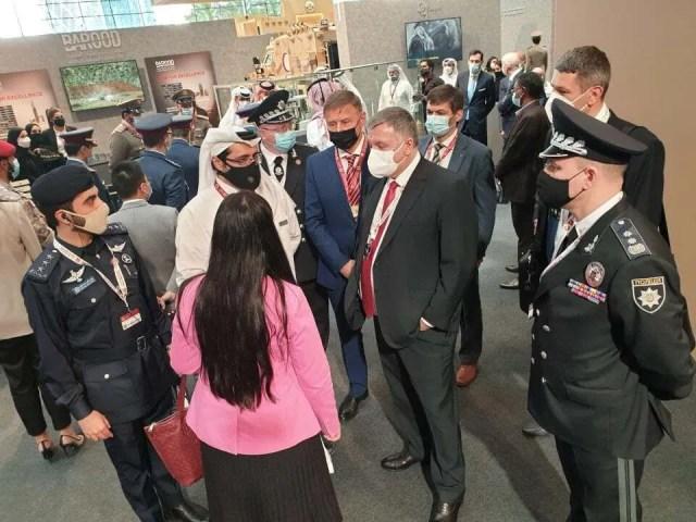 Українська делегація в Катарі.