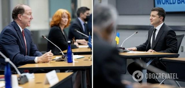 Володимир Зеленський під час зустрічей у Вашингтоні