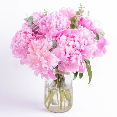 Chicago Birthday Flowers   Birthday Bouquet Delivery Pink Peonies