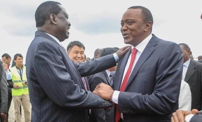 You are the chief complainer of Kenya- Uhuru brands Raila during tour to opposition stronghold