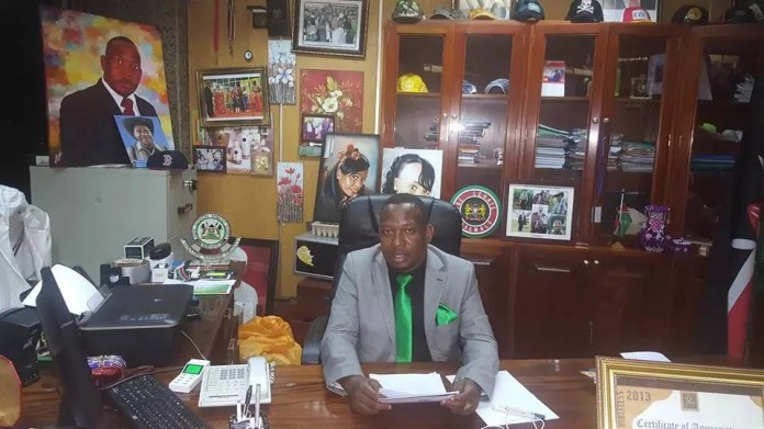 Mike Sonko criticised for having a disorganised officce