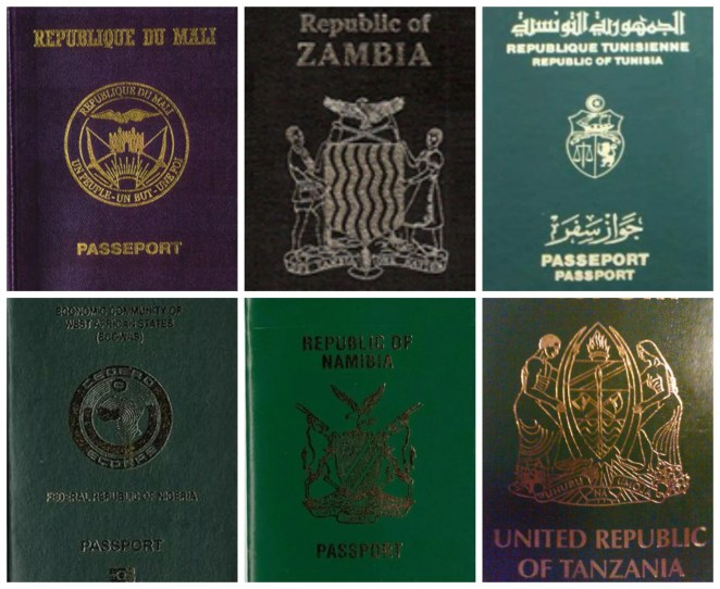 Ten Most Powerful Passports In Africa