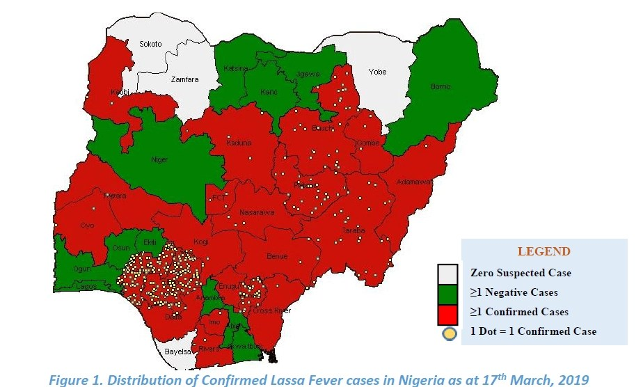 Nigeria Records Six New Deaths From Lassa Fever as Confirmed Cases Increase