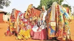 Egungun Festival In Ibadan