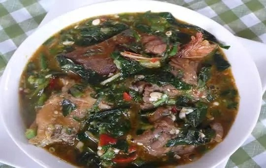 How To Prepare Otong Soup With Beef