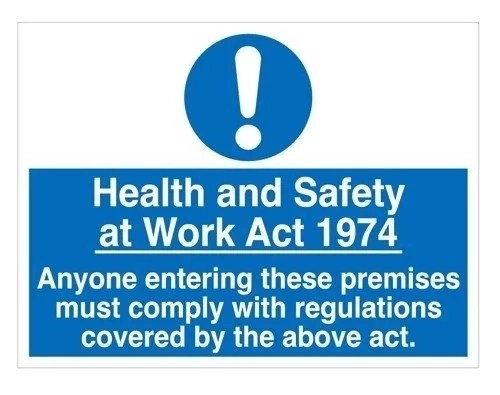 Employees responsibilities for health and safety at work act 1974