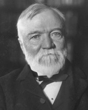 Industrialist and Philanthropist Andrew Carnegie