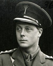 King of Great Britain Edward VIII
