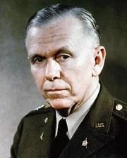 Military Leader George Marshall