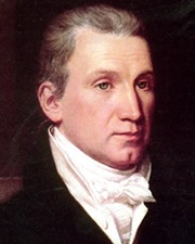 5th US President James Monroe