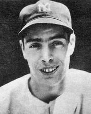 Baseball Player Joe DiMaggio