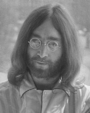 Musician and Beatle John Lennon