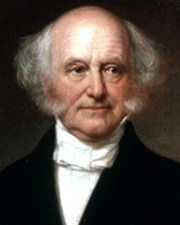 8th US President Martin Van Buren