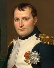 French Emperor Napoléon Bonaparte