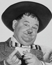 Comic Actor Oliver Hardy