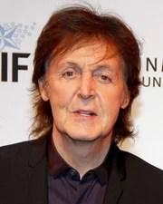 Musician & member of the Beatles Paul McCartney