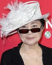 Artist & Musician Yoko Ono