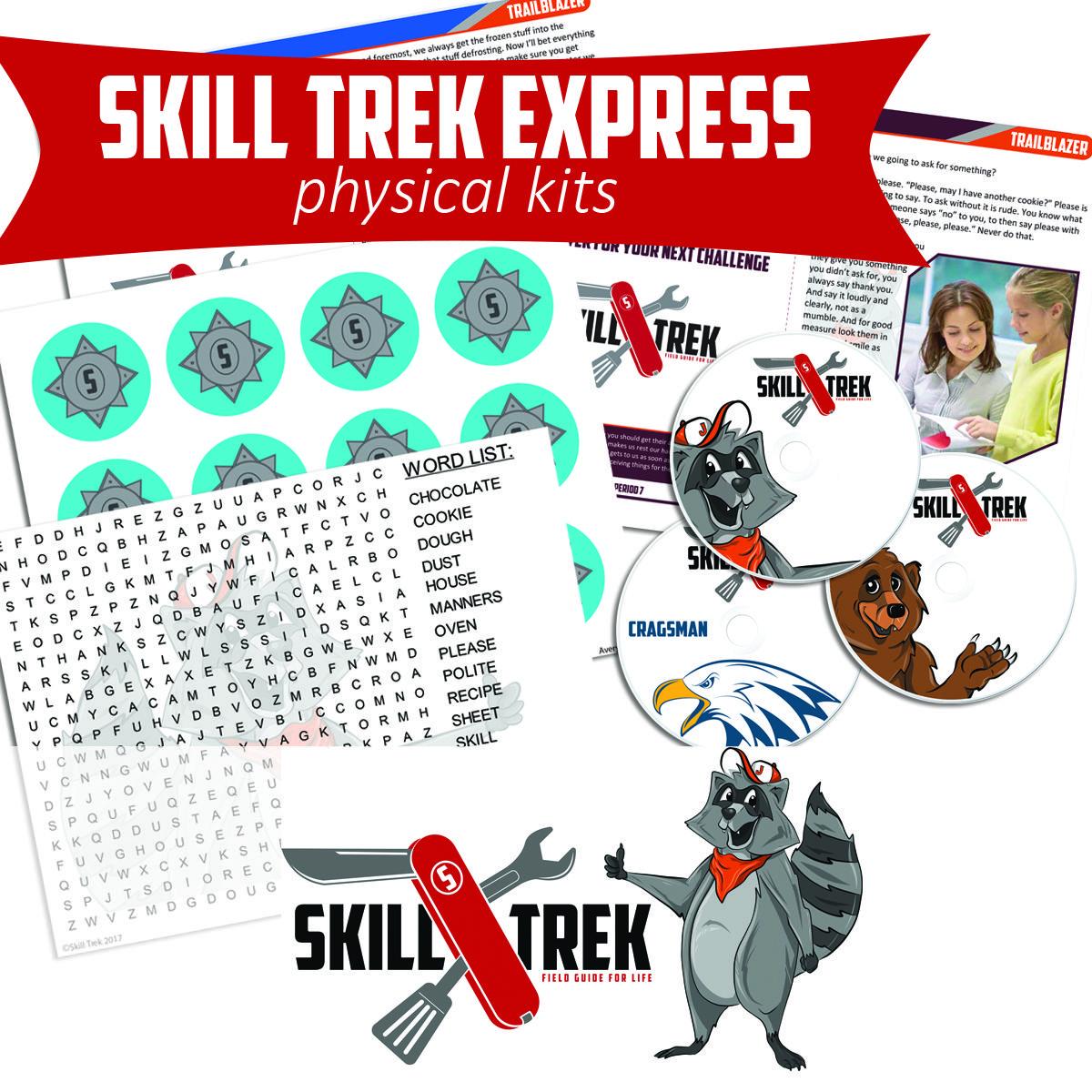 Skill Trek Express Physical Kits