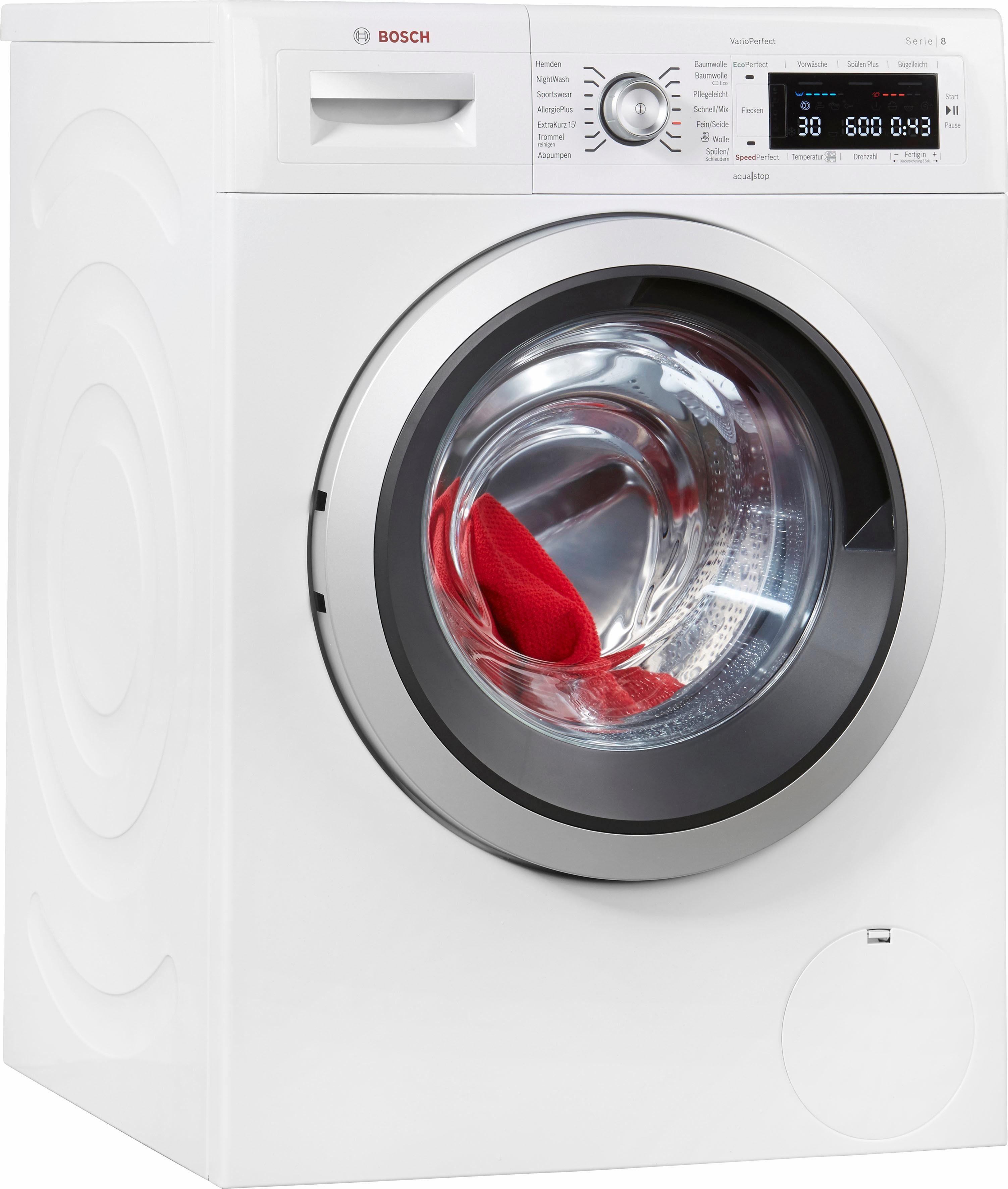 Bosch Waschmaschine Serie 8 Waw32541 8 Kg 1600 U Min Online