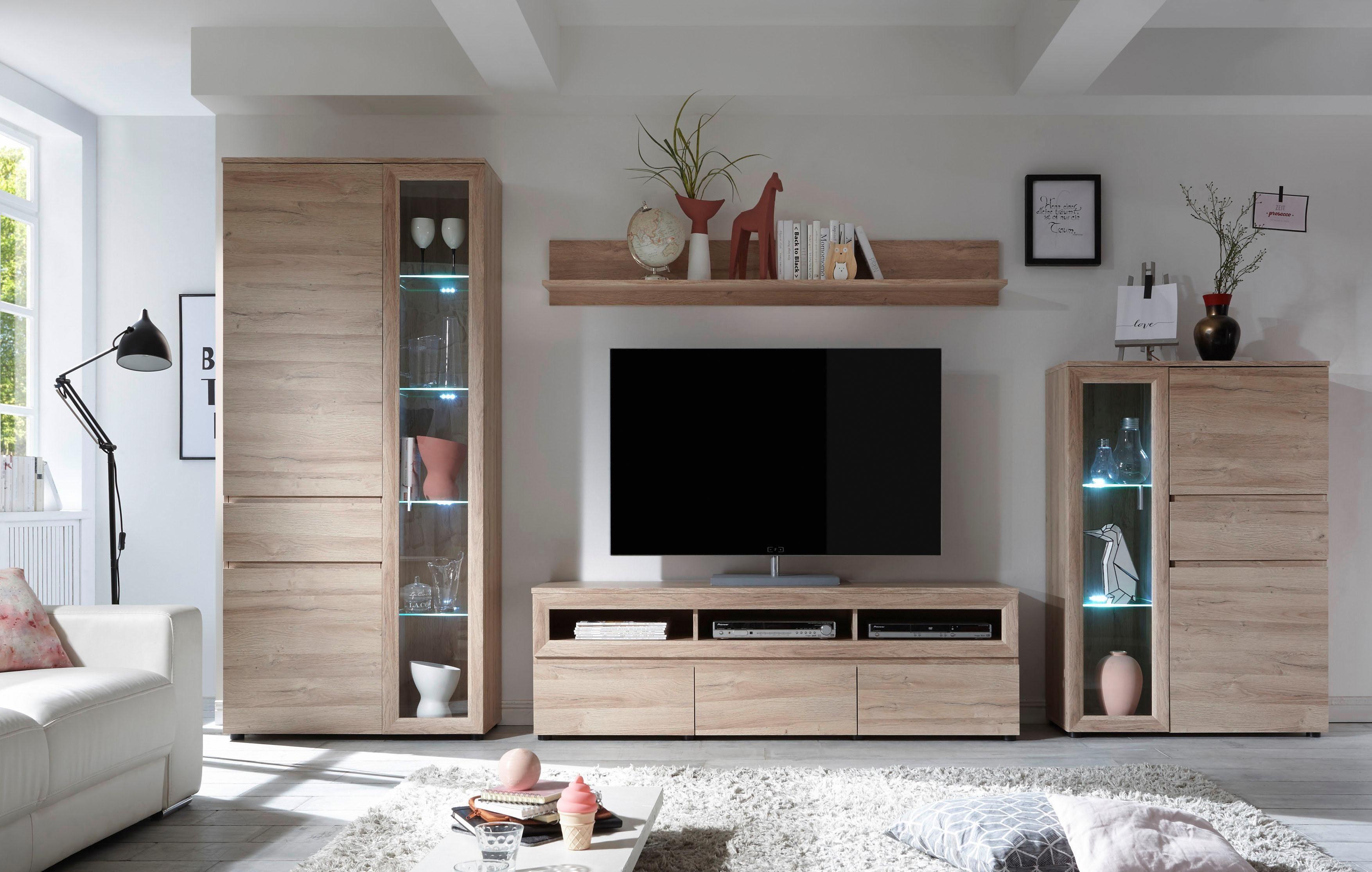 Wohnwand, Set, 4 tlg online kaufen   OTTO