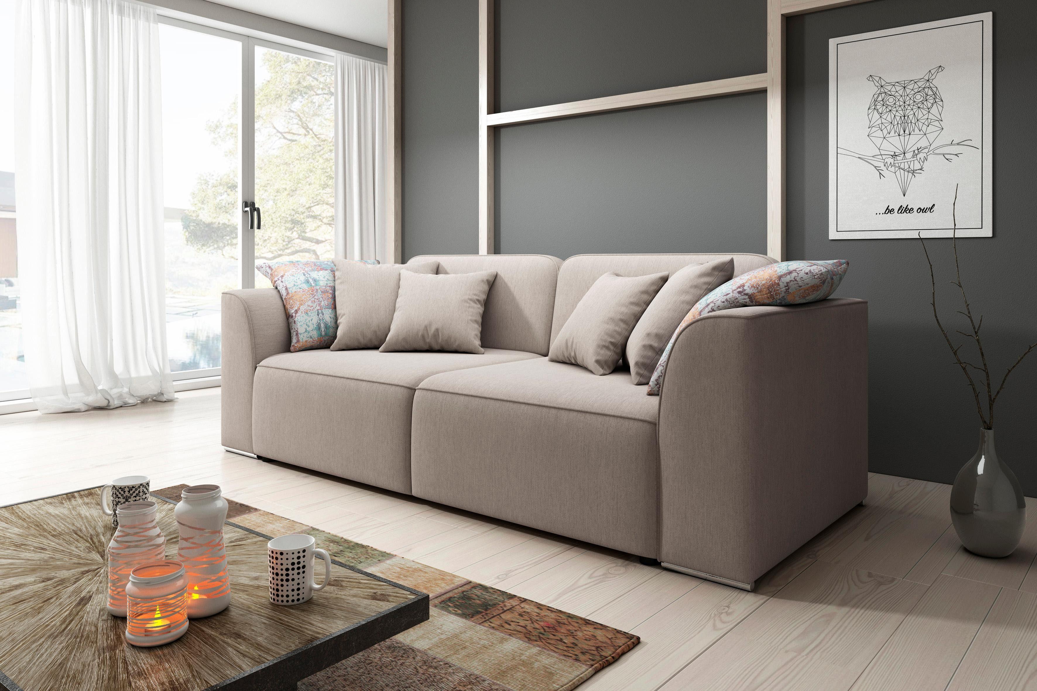 Trendmanufaktur Big Sofa mit Schlaffunktion kaufen   OTTO