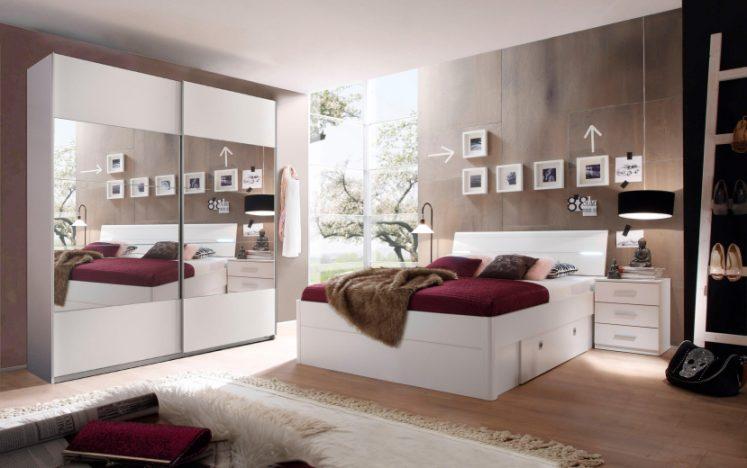Schlafzimmer Set 3 tlg. bzw. 4 tlg, in 2 Ausführungen ...