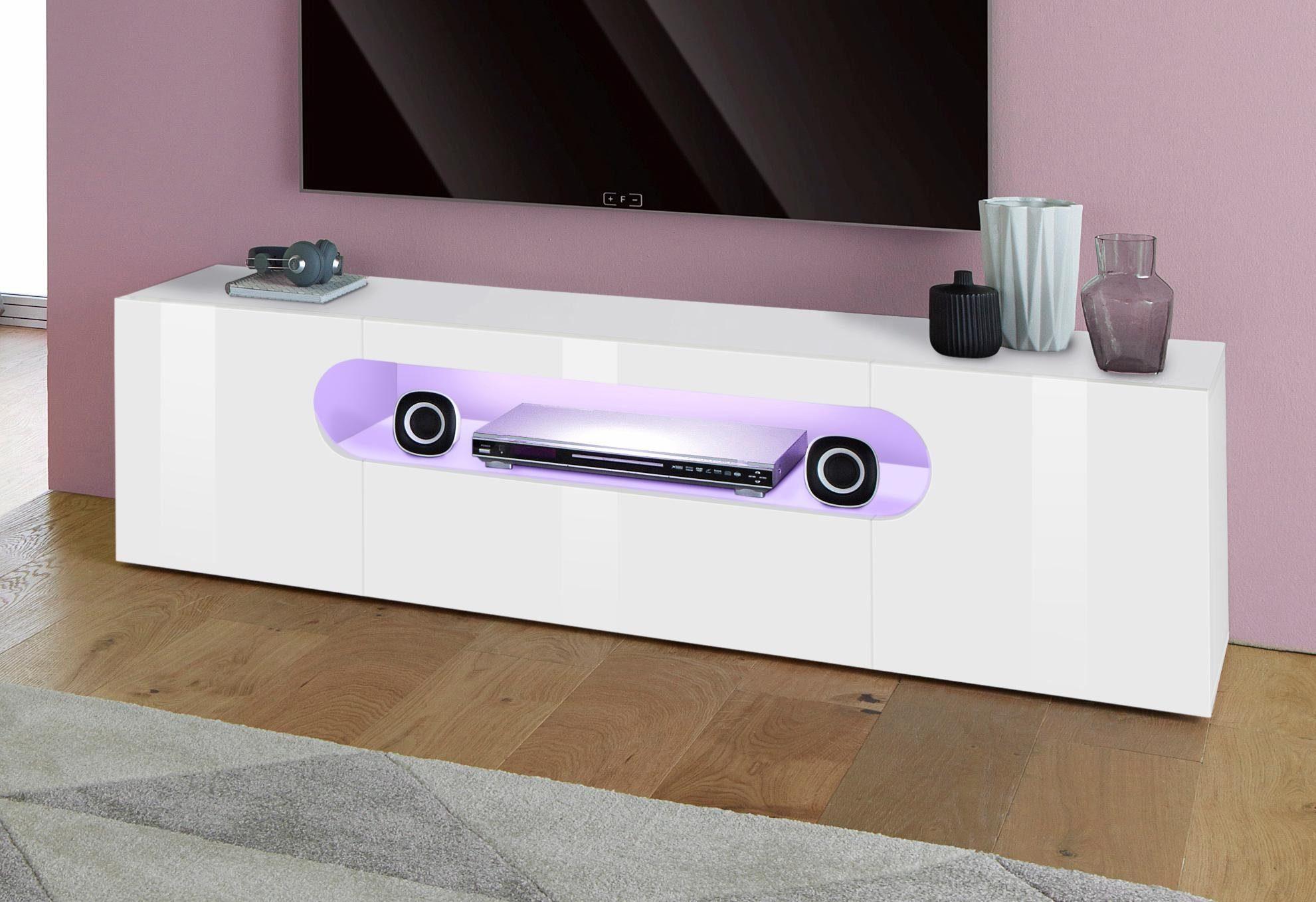 Tecnos Lowboard Real Breite 150 Cm 2 Turen Online Kaufen Otto