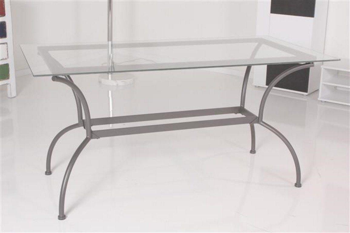 Kasper-Wohndesign Tisch Esstisch Glastisch 150x74cm Glas