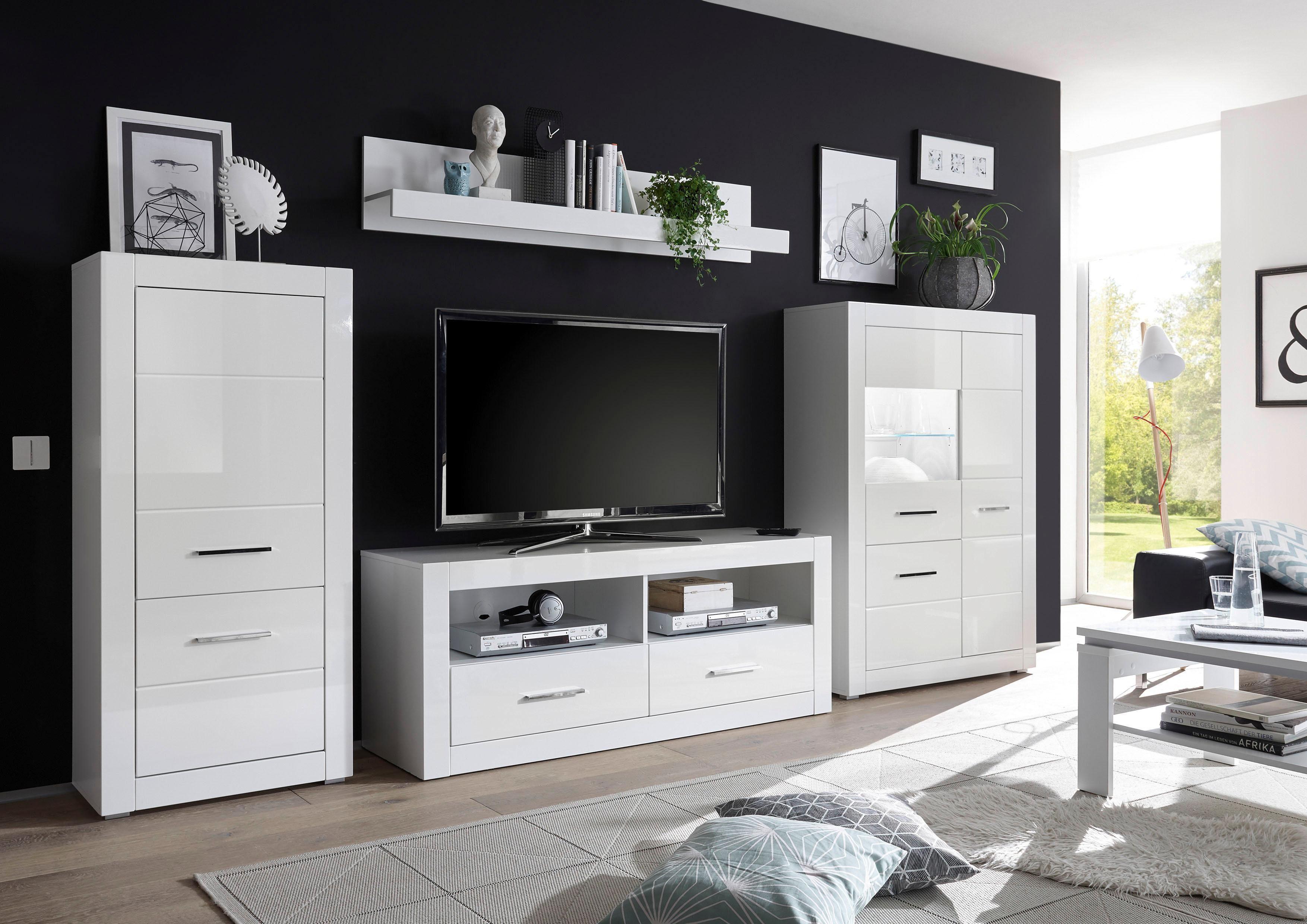 Wohnwand »BIANCO«, Set, 4 tlg online kaufen   OTTO