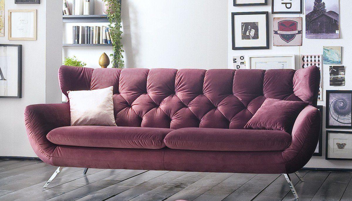 Kasper-Wohndesign Sofa Stoff Versch. Farben »CHARME