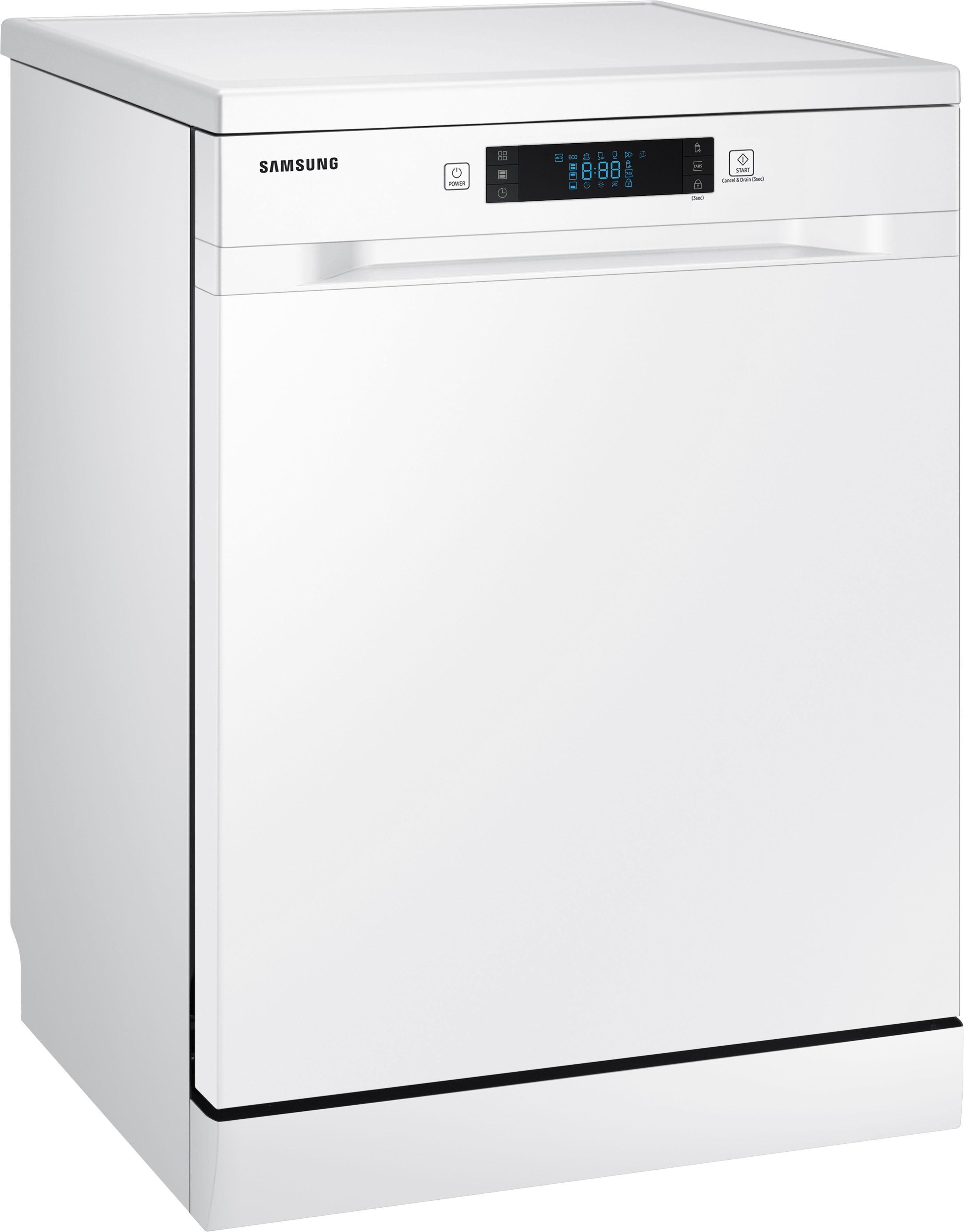 Samsung Standgeschirrspüler DW5500, DW60M6050FW/EC, 10,5 l, 14 Maßgedecke - Samsung