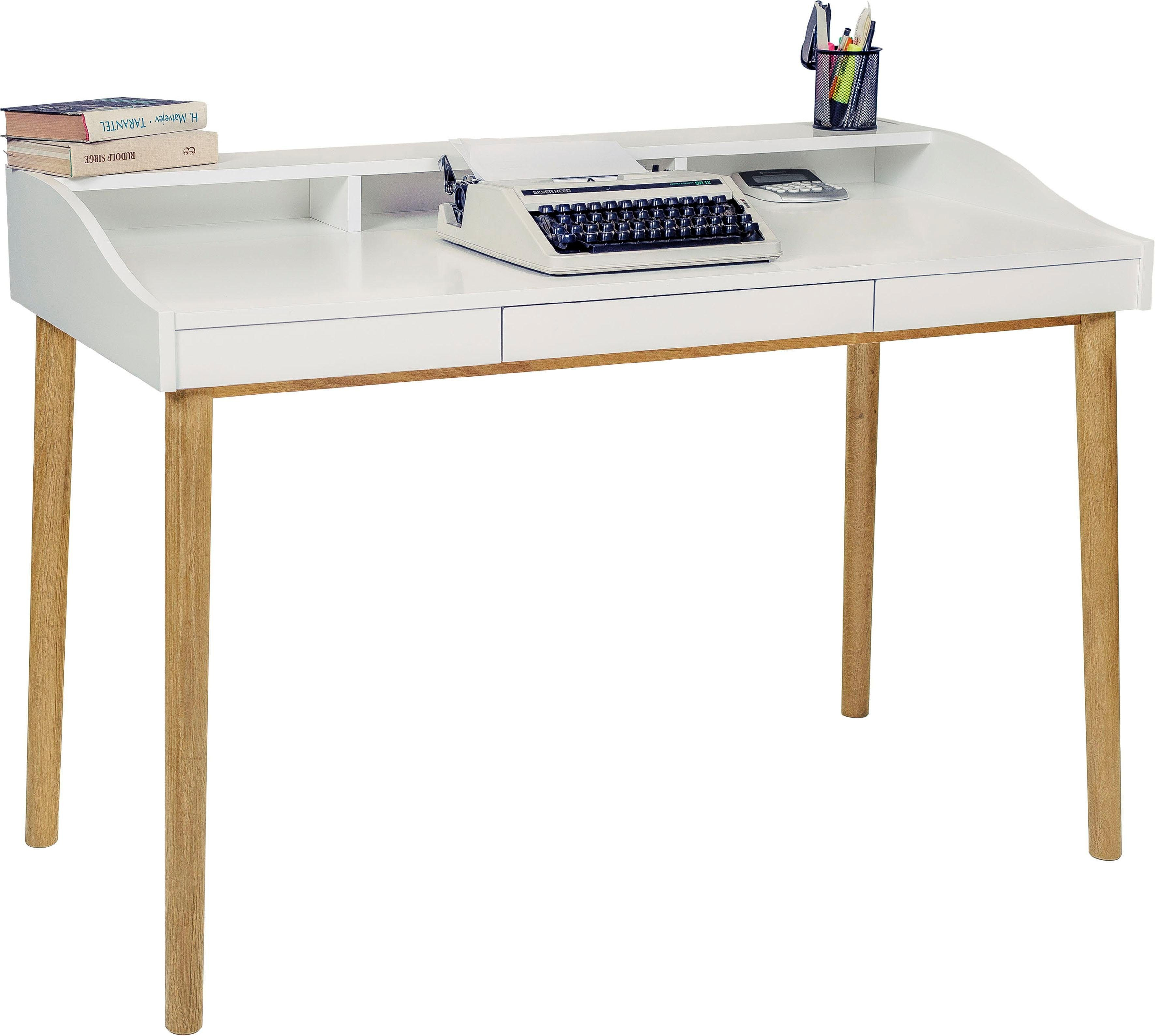 Woodman Schreibtisch »Lene«, 1 Schubkasten abschließbar ...