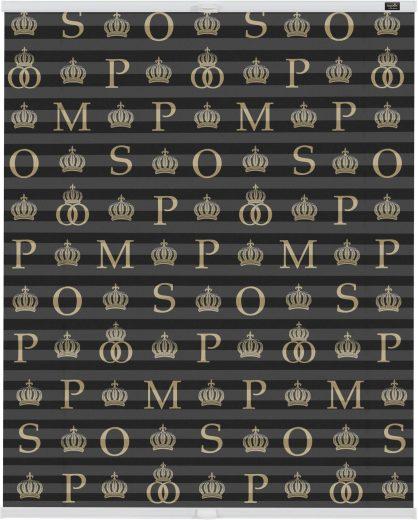 Plissee »Klemmfix Motiv Noir classique«, POMPÖÖS by ...